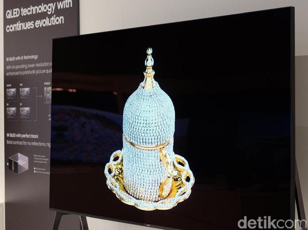 TV 8K Samsung Menggebrak