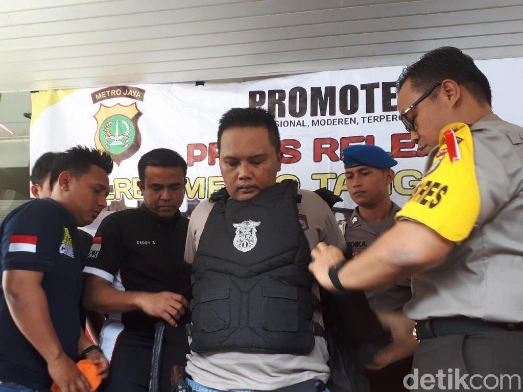 Tampang Polisi Gadungan yang 39 Kali Perkosa dan Peras Korbannya