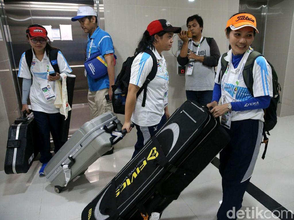 Wisma Atlet Mulai Ramai oleh Peserta Test Event Asian Games 2018