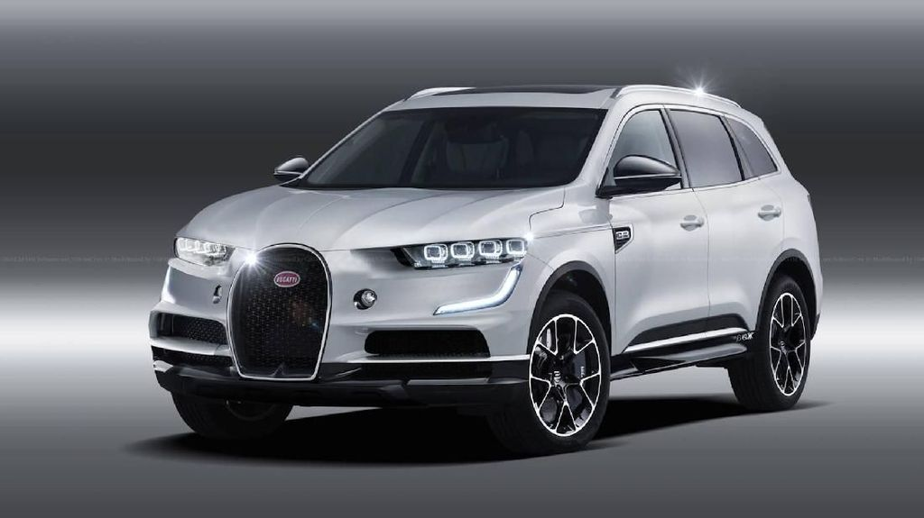 Saat Bugatti Berbaju SUV