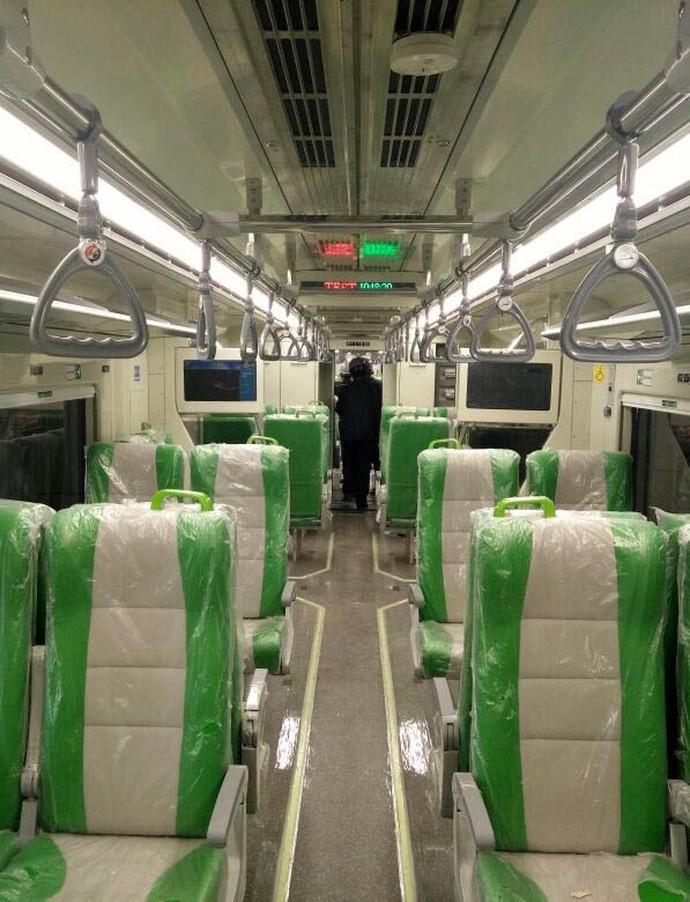 Penampakan Kereta Bandara Minangkabau, Penasaran?