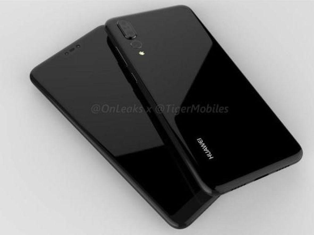 Muncul Lagi Bocoran Desain Huawei P20