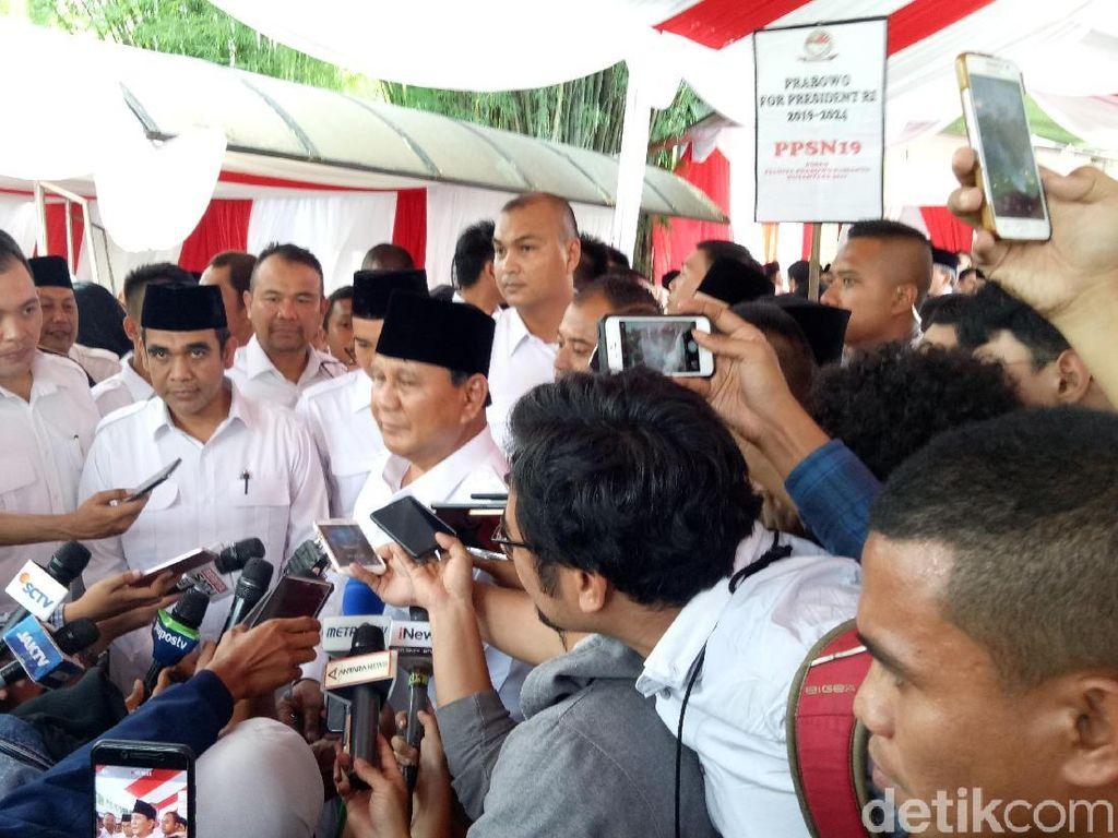 Akan Pidato di Hambalang, Prabowo: Dengarkan Kesedihan Saya!