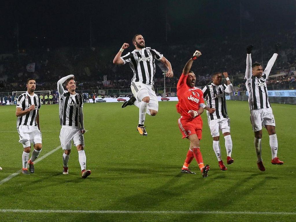 Langkah Besar Juventus Menuju Scudetto