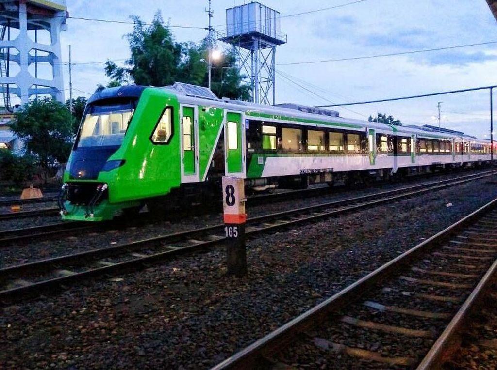 Penampakan Kereta Bandara Minangkabau yang Diresmikan Jokowi