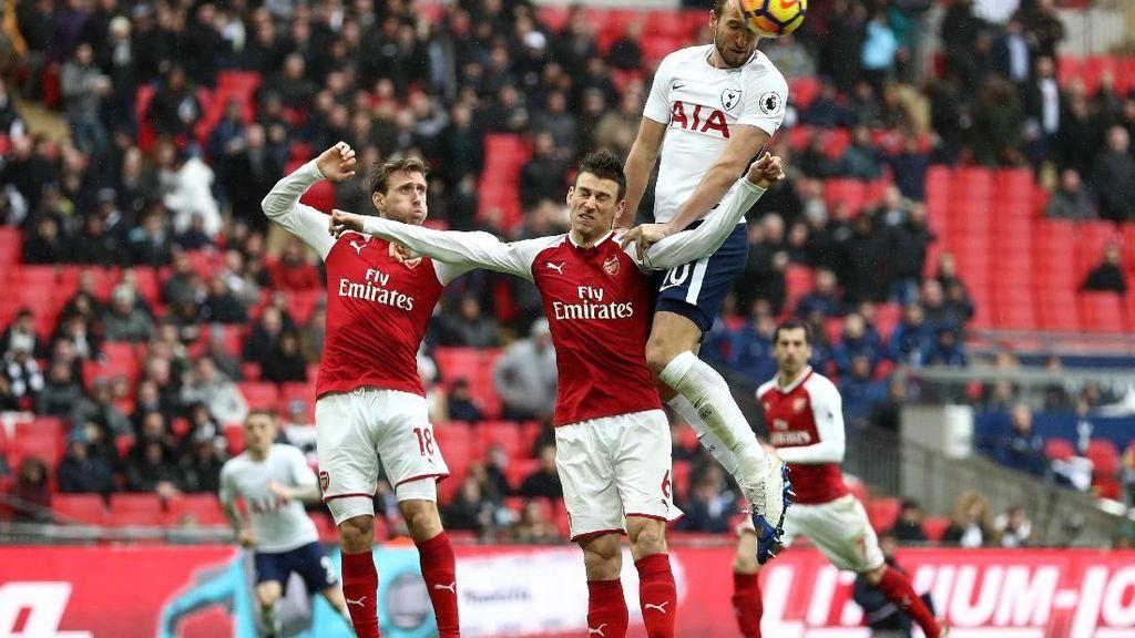 Sundulan Harry Kane Kandaskan Arsenal