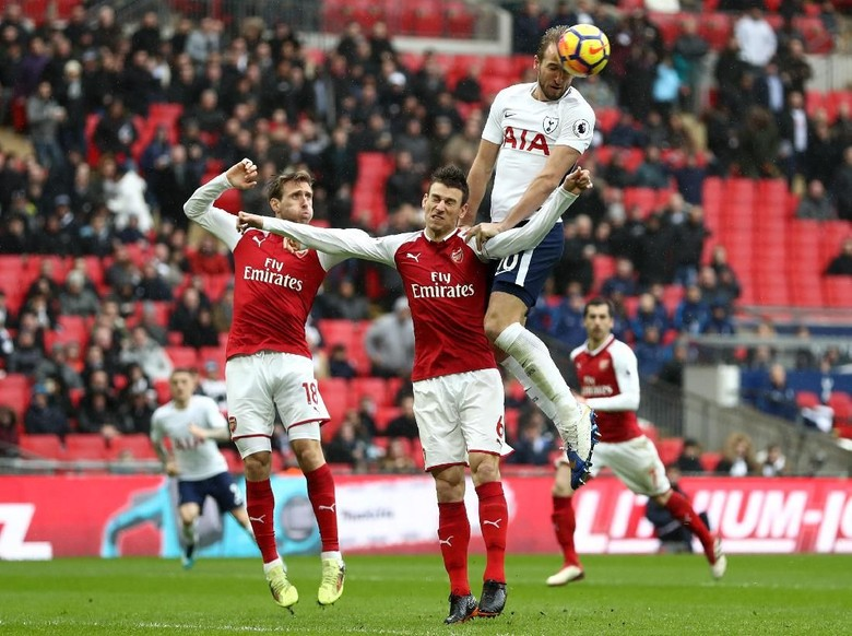Gol Tunggal Harry Kane Sungkurkan Arsenal