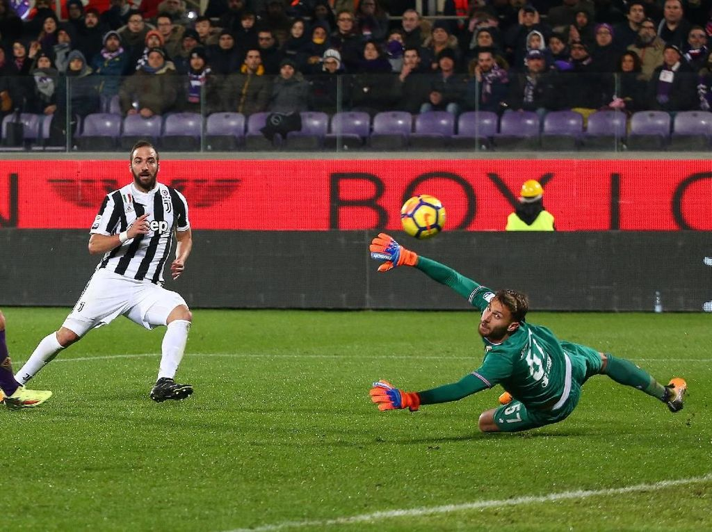 Tekuk Fiorentina, Juventus Ambil Alih Puncak Klasemen