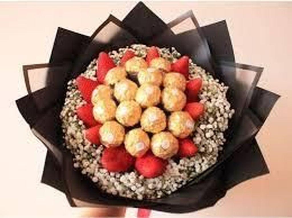 10 Buket Makanan Ini Bisa Jadi Hadiah Valentine Unik Buat yang Tercinta