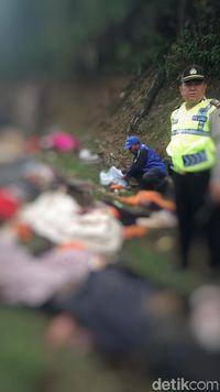 Bus Kecelakaan di Tanjakan Emen Subang, Banyak Korban Tewas