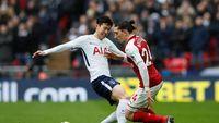 Tottenham vs Arsenal Tanpa Gol di Babak Pertama