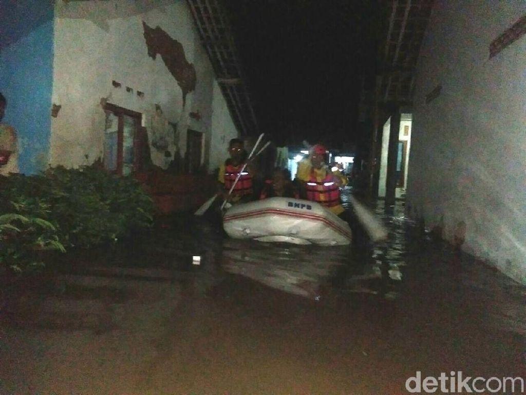 6 Kecamatan di Tegal Terendam Banjir