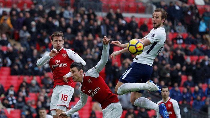 Itu menjadi gol ke-23 Kane dari 27 pekan Premier League yang sudah terlewati musim ini. Kane mengokohkan diri sebagai top skorer sementara. (Foto: Andrew Couldridge/Action Images via Reuters)