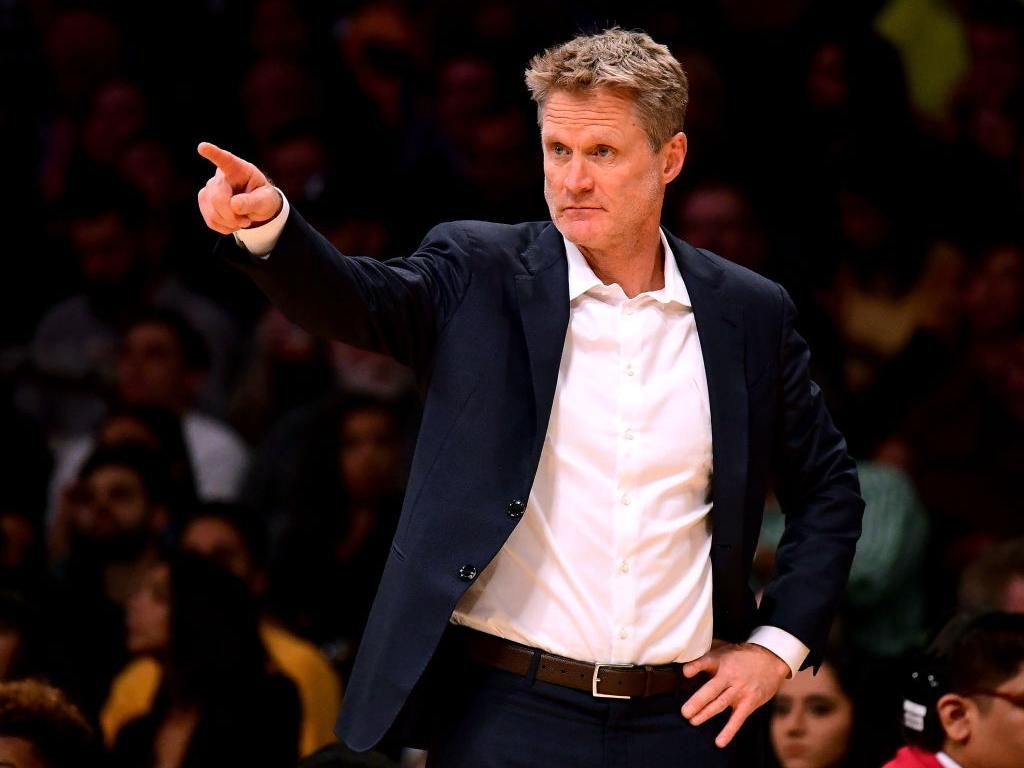 Torehan Istimewa Steve Kerr Saat Warriors Kalahkan Spurs