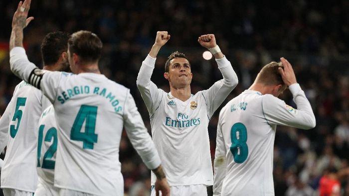 Pemain Real Madrid, Cristiano Ronaldo. (Foto: Sergio Perez/Reuters)