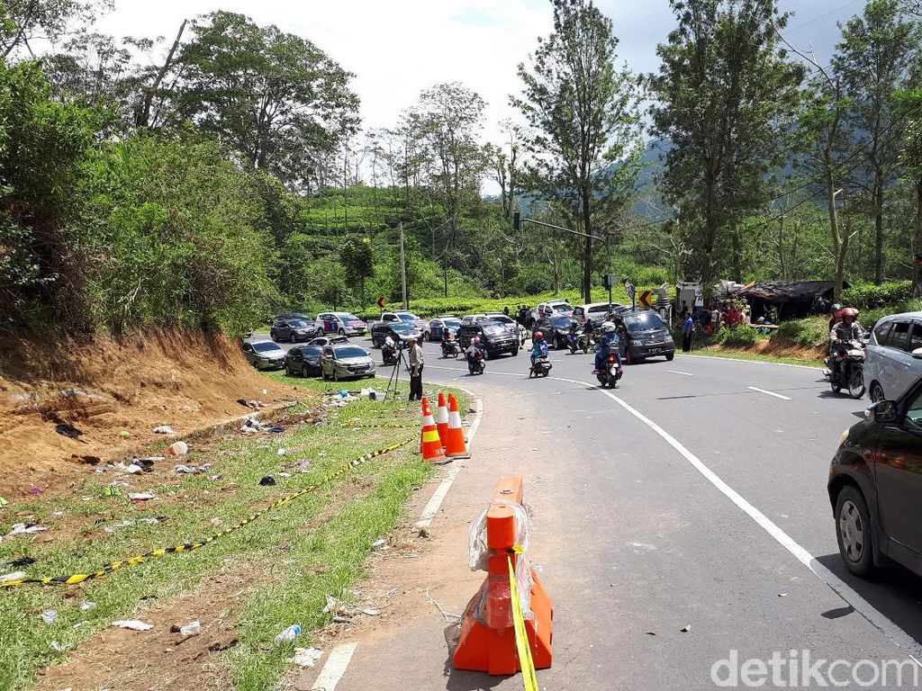 Polisi: Sebagian Geometris Jalan Tanjakan Emen Harus Diperbaiki
