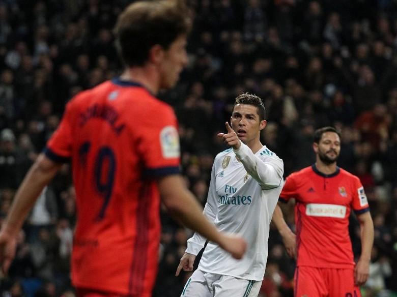 Cristiano Ronaldo Hat-trick, Madrid Hajar Sociedad