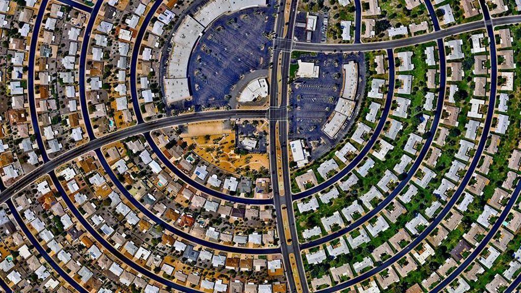 Pemandangan Mengagumkan Bumi dari Satelit Resolusi Tinggi