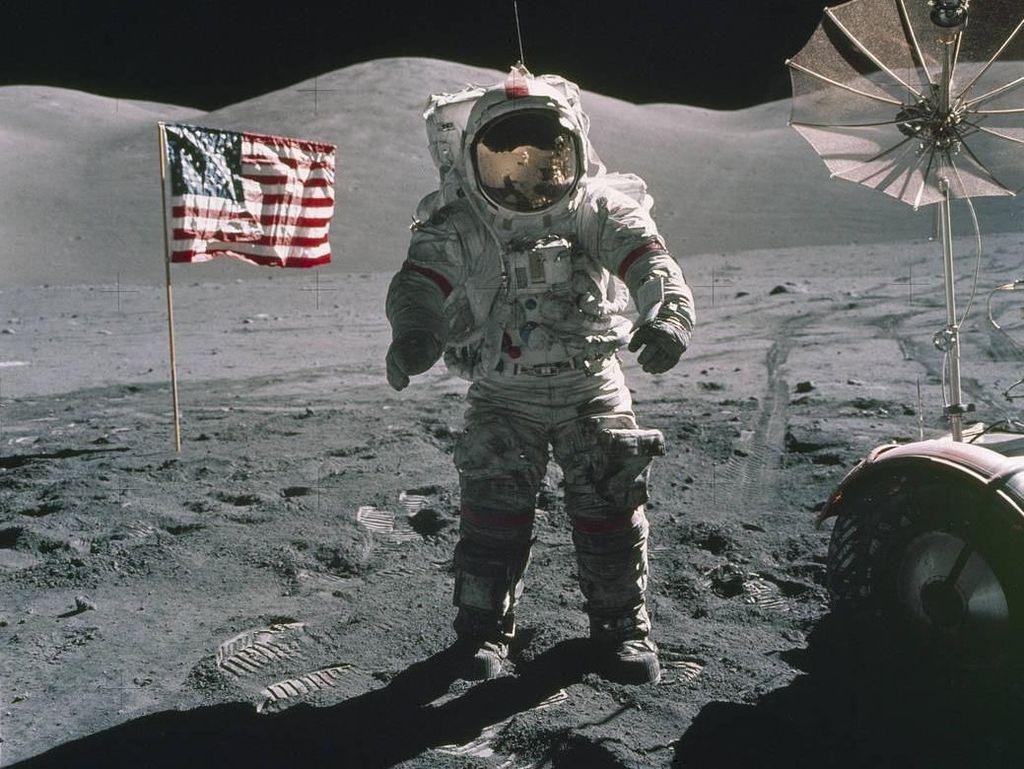 Melihat Saat Terakhir Manusia Mendarat di Bulan