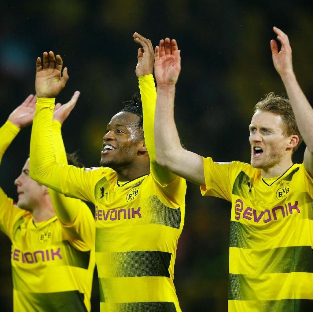 Batshuayi Bikin Gol Lagi, Dortmund Taklukkan Hamburg