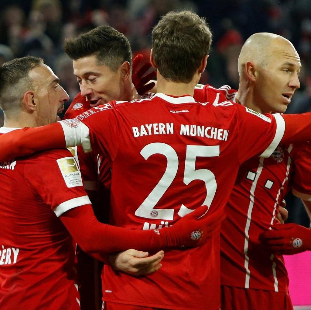 Dari Depan TV, Heynckes Kirim Ucapan Selamat ke Bayern
