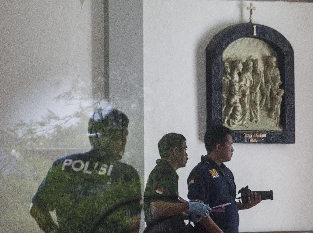 Penyerang Gereja Lidwina Sleman Berstatus Mahasiswa