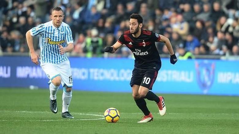 Milan Sempat Menderita Sebelum Berhasil Melibas SPAL