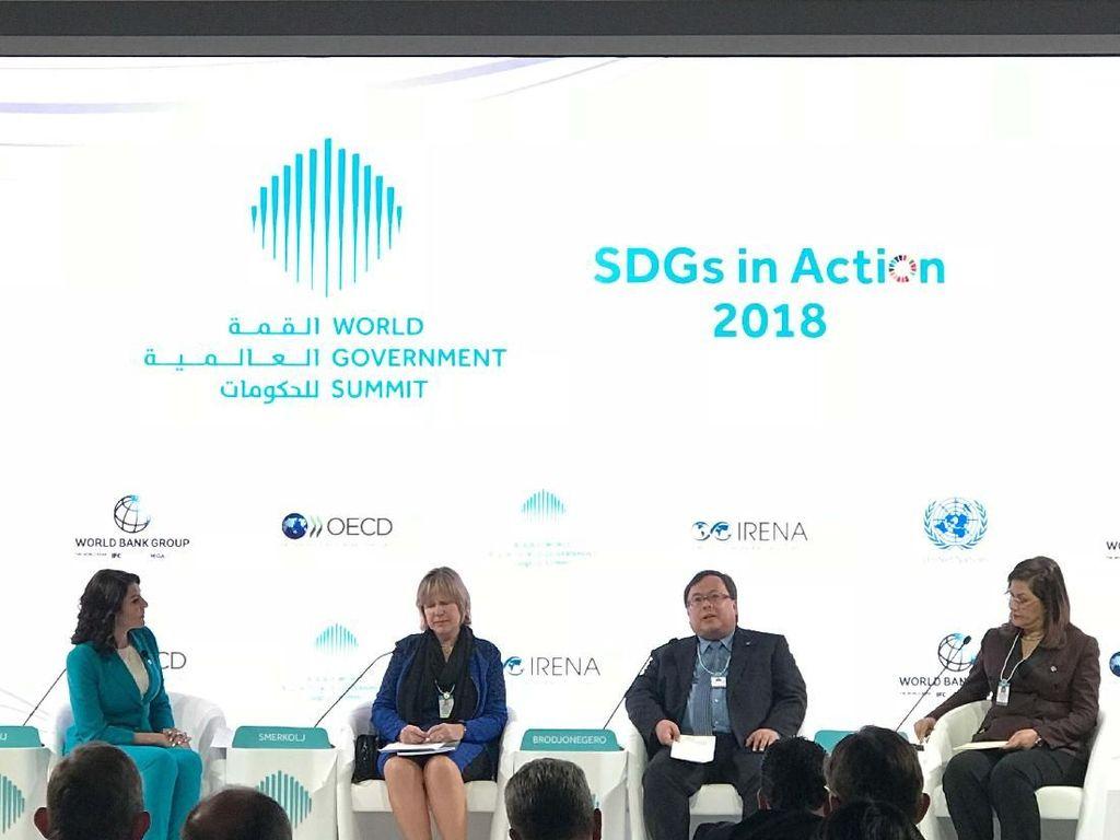 Kepala Bappenas Berbagi di Forum Diskusi SDGs