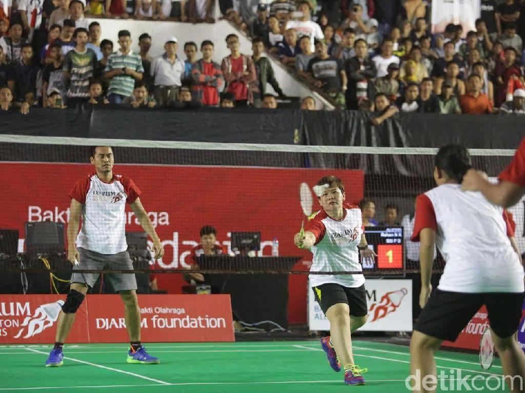 Terhibur di Djarum Badminton All Star