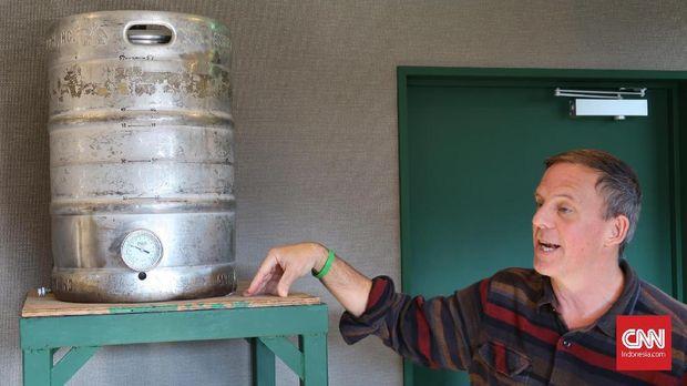 Bryan Baird, pemilik baird beer