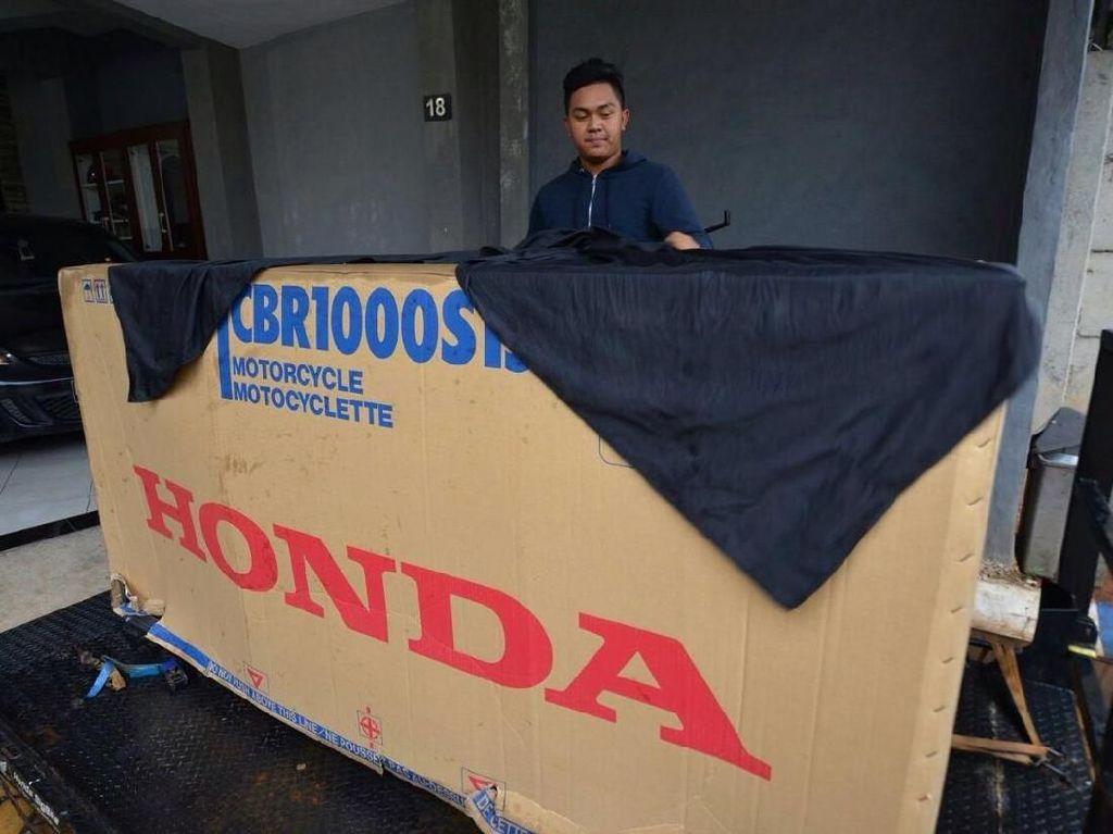Orang RI Pertama yang Punya Moge Honda Seharga Setengah Miliar Lebih