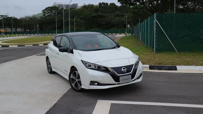 Nissan Leaf Tiba di Singapura, Harganya Hampir Rp 2 M