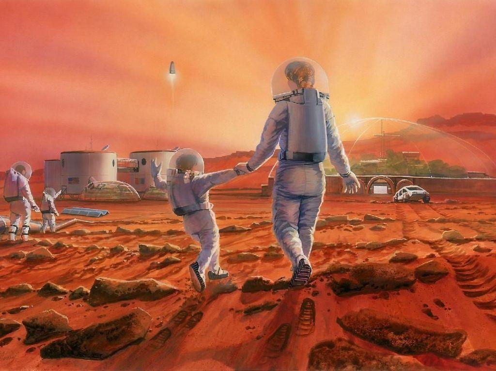 Ini Perubahan yang Dialami Manusia jika Dikirim ke Mars