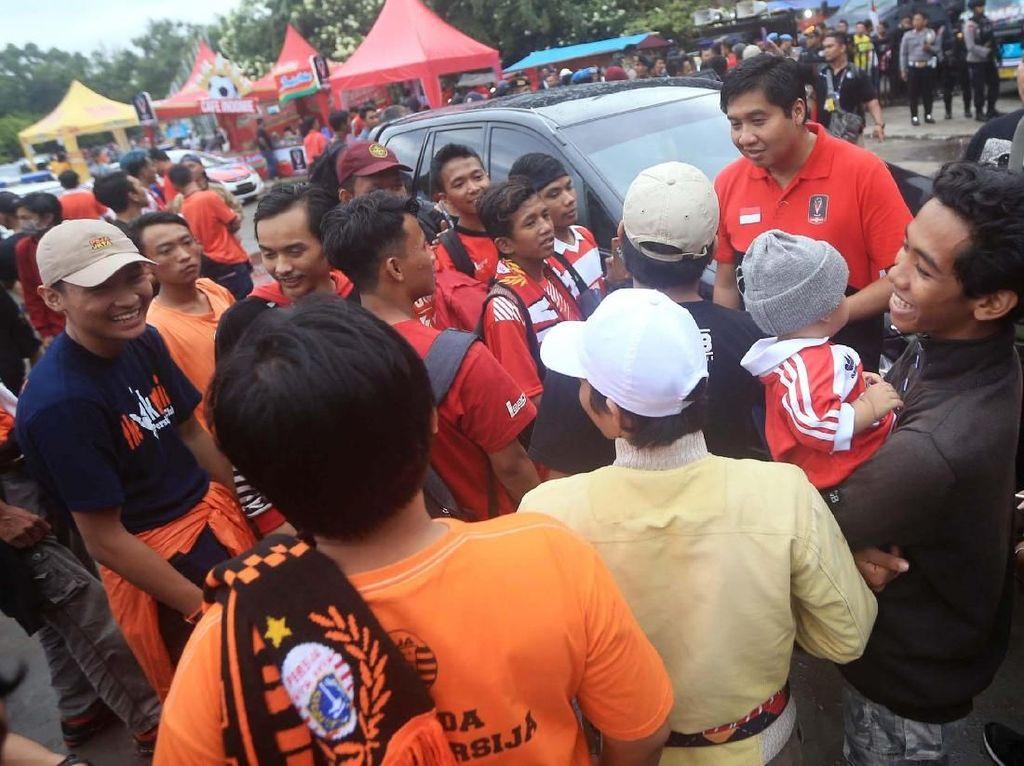 Ketua SC Piala Presiden 2018 Sapa The Jak Mania di Solo