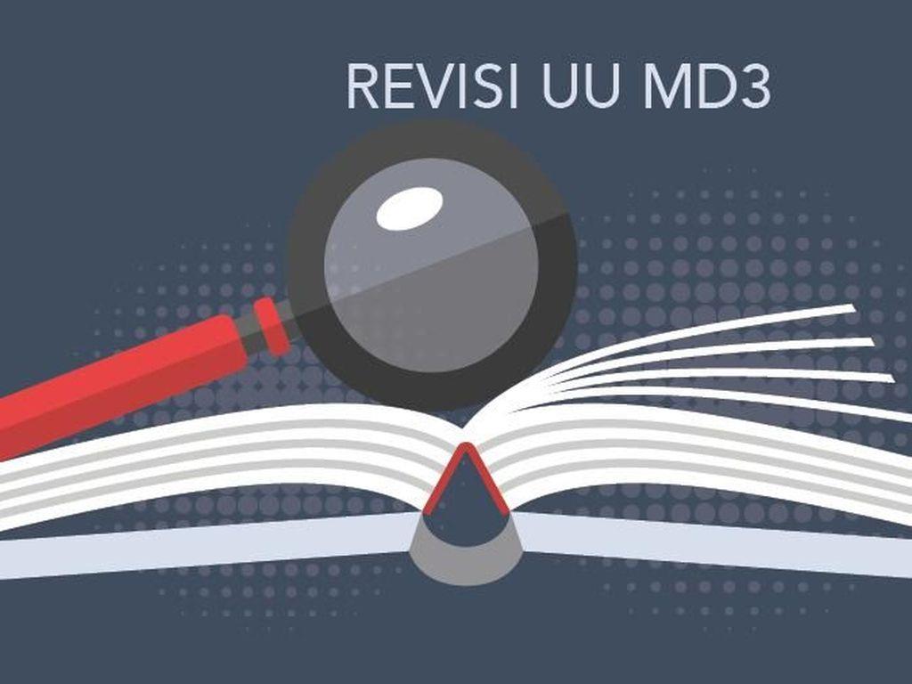 Revisi UU MD3 untuk Siapa