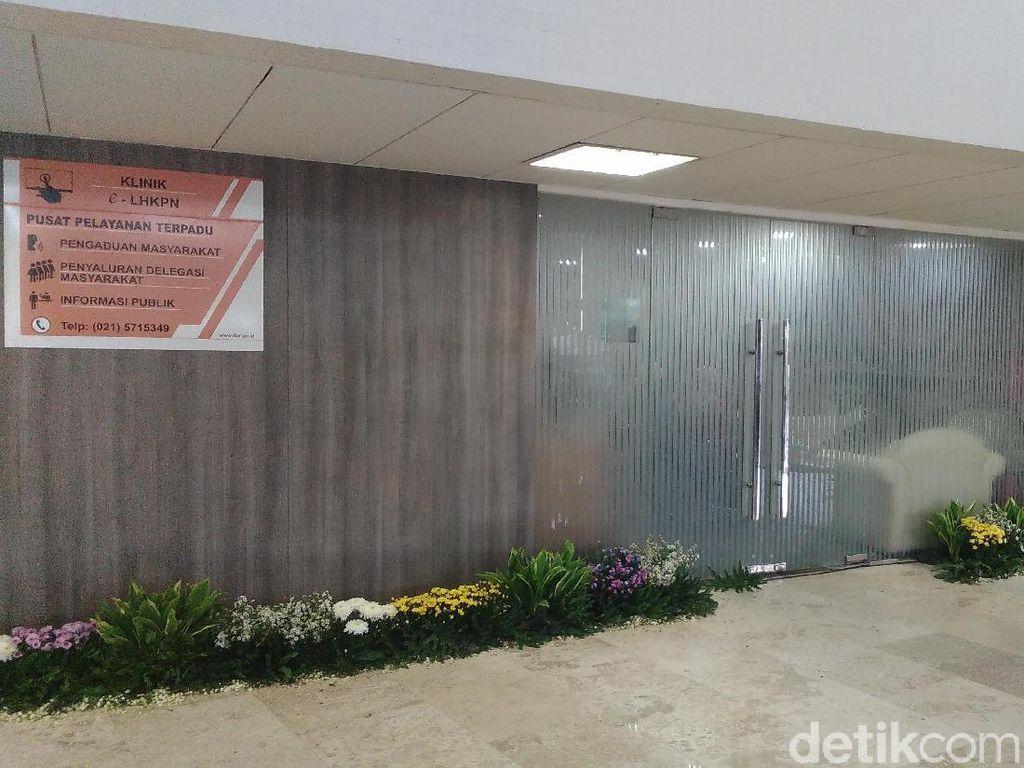 Jeroan Klinik e-LHKPN di Gedung DPR