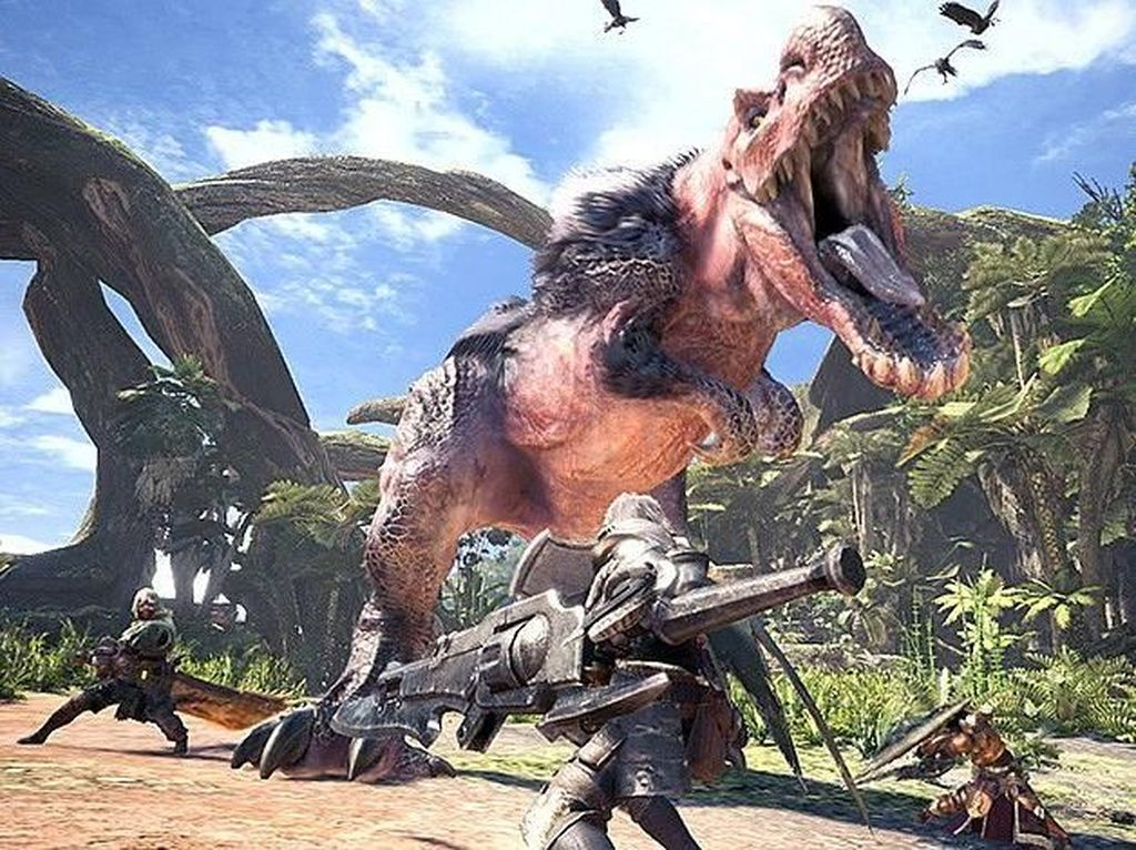 Monster Hunter World Cetak Rekor Baru Capcom