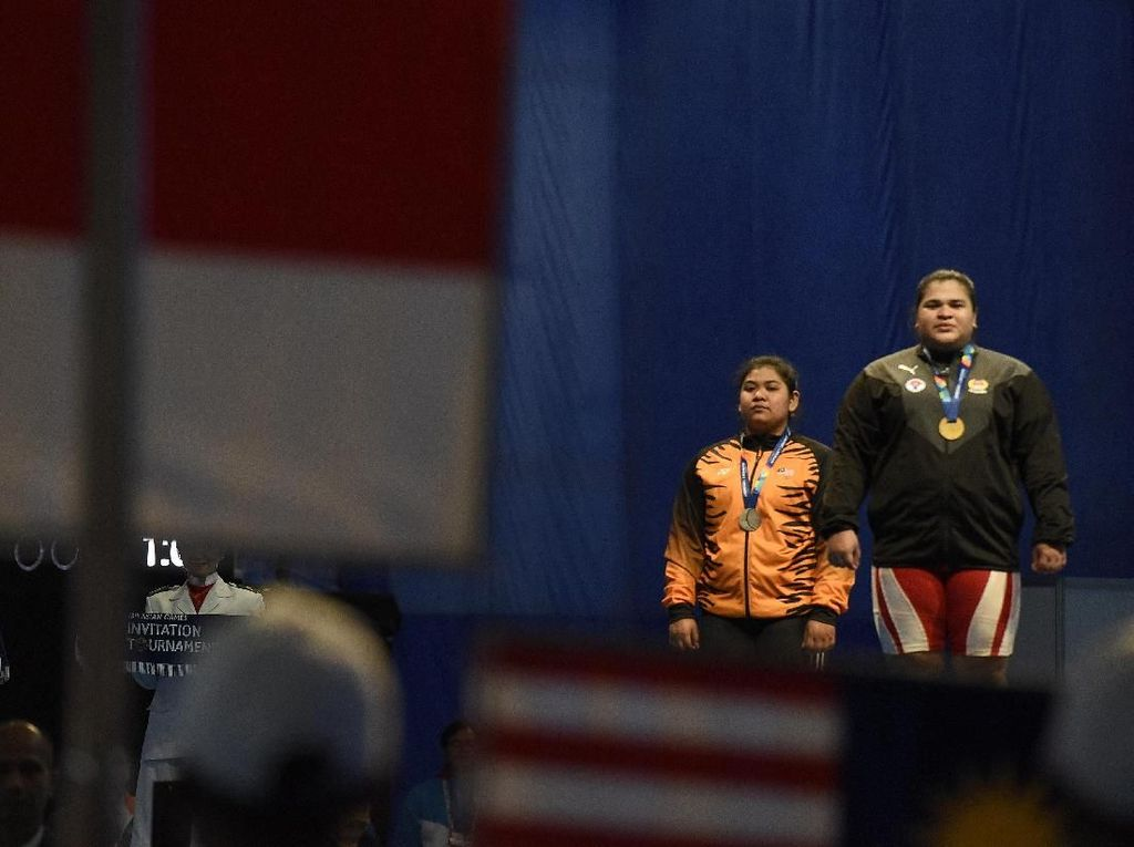 Indonesia Tambah 2 Emas Angkat Besi
