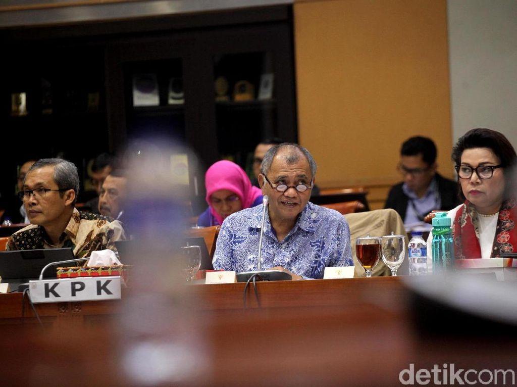 Di DPR, KPK Ungkap Penyidikan Sosok FA di Kasus Satelit Bakamla
