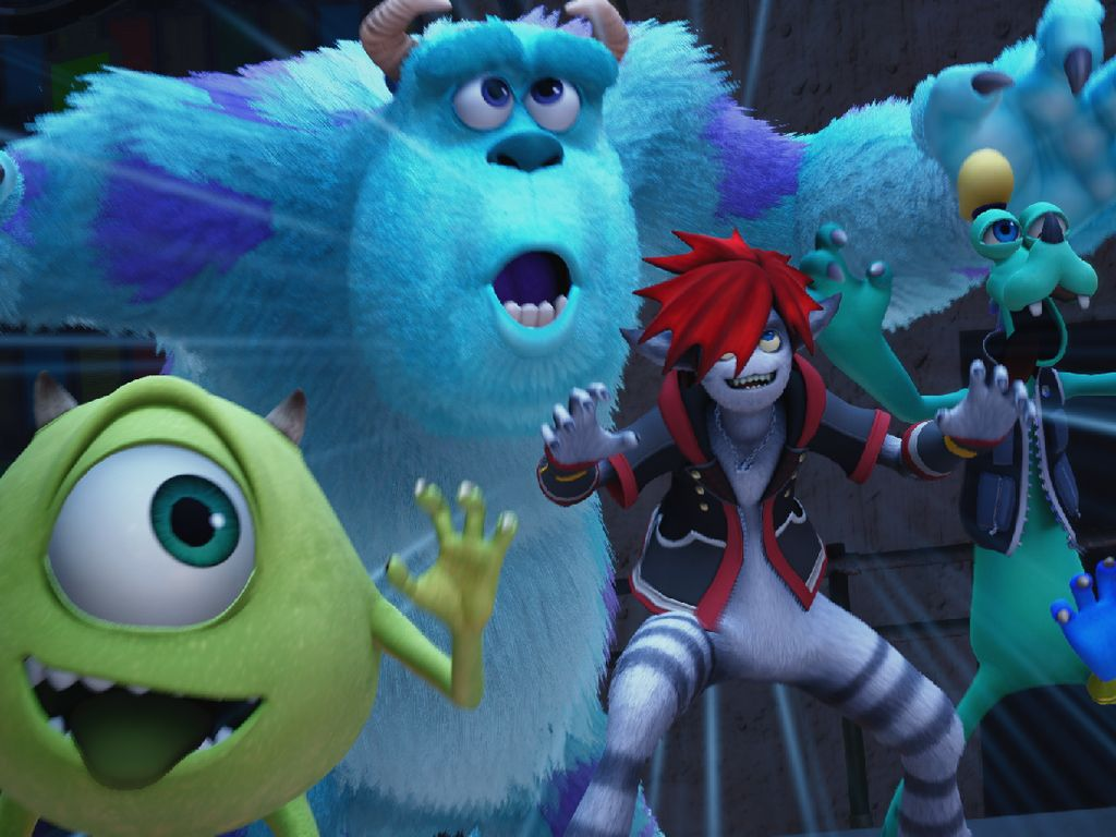 Duet Monster Inc Siap Ramaikan Kingdom Hearts 3