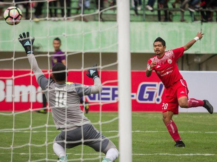 Persija Jakarta di laga Piala Presiden 2018. (Foto: Mohammad Ayudha/Antara Foto)