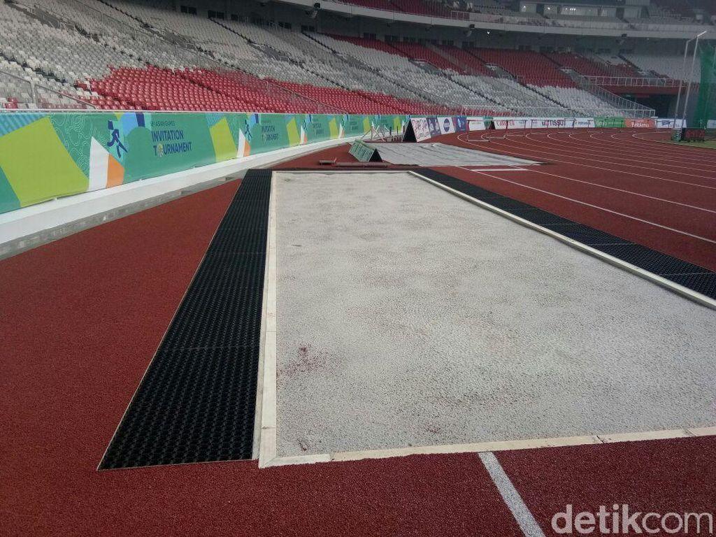 Membahayakan Atlet, Arena Lompat Jauh & Jangkit di SUGBK Harus Dibongkar