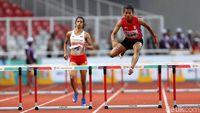 Indonesia Gagal Raih Emas di Lari Halang Rintang 400 Meter