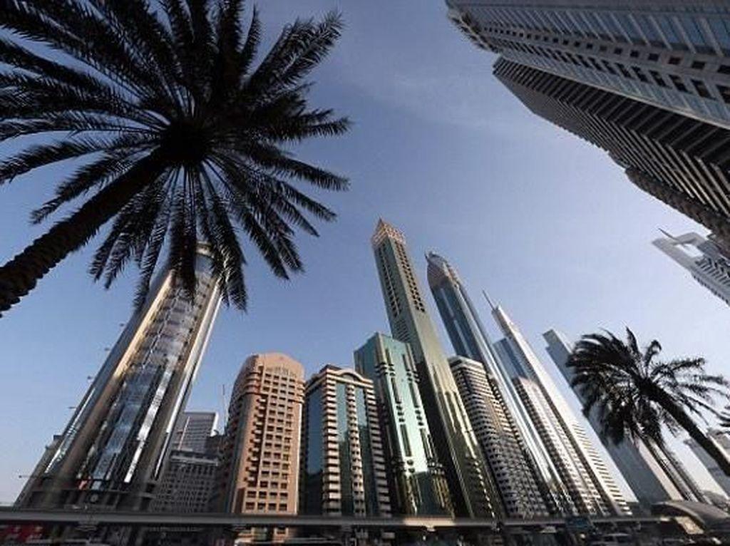 Foto: Mewahnya Hotel Tertinggi Sedunia di Dubai