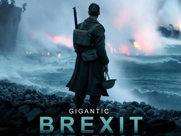 Karya Nolan bertajuk Dunkirk pun dianggap menjadi metamorfosa dari kejadian Brexit. (Dok. Schiznit)