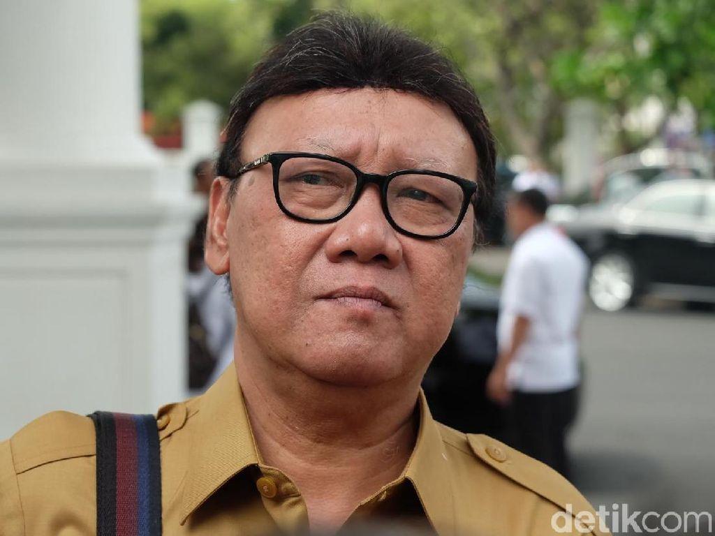 Lantik Pjs Gubernur Lampung, Mendagri Ingatkan Soal Korupsi