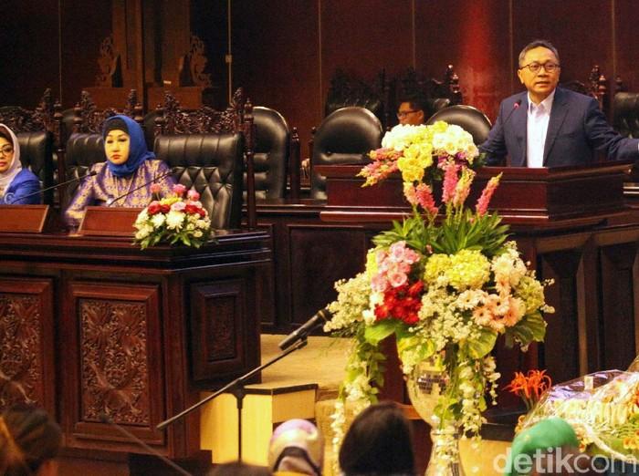 Ketua MPR: Wakil Ketua Baru Basarah, Muzani, dan Cak Imin