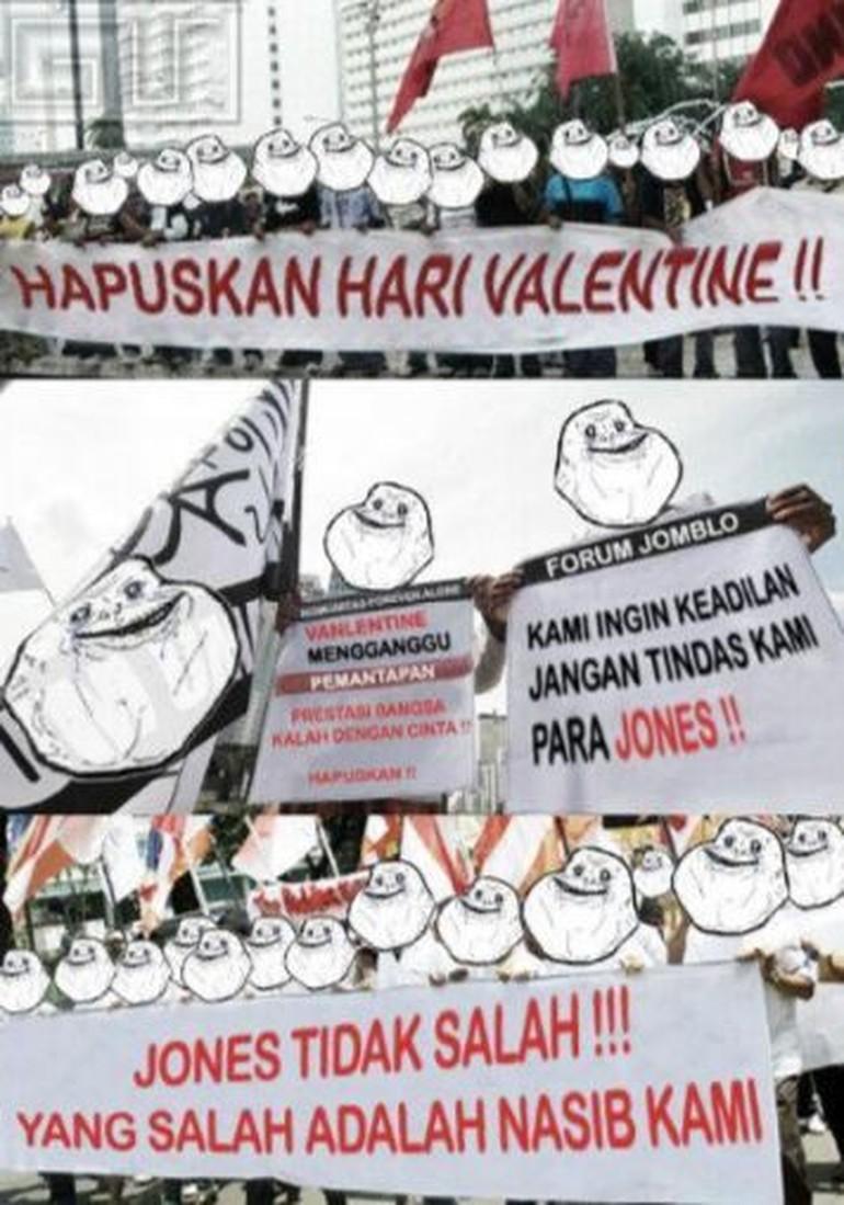 20 Meme Valentine Kocak Ini Khusus Buat Kamu Yang Jomblo