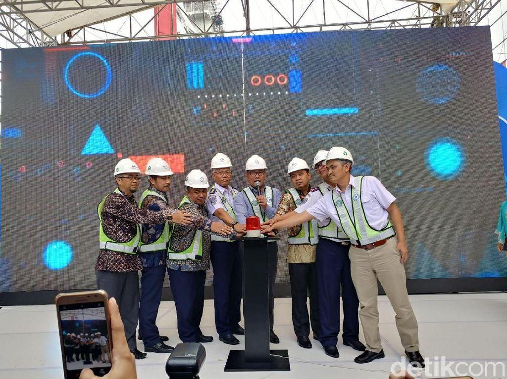 Pencanangan LRT Metro Kapsul Bandung Dimulai