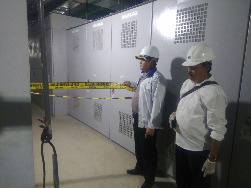 Dedi Tewas Kesetrum Saat Perbaiki Listrik di PT Asahimas Chemical